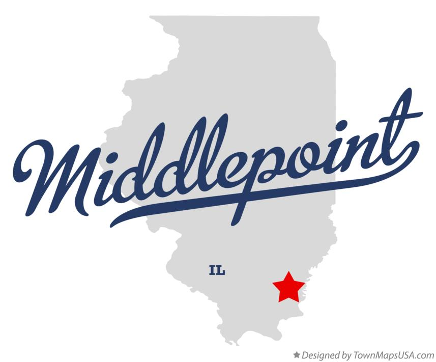 Map of Middlepoint Illinois IL