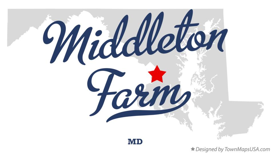 Map of Middleton Farm Maryland MD