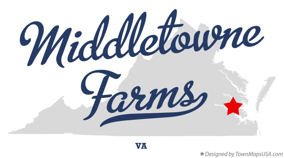 Map of Middletowne Farms Virginia VA