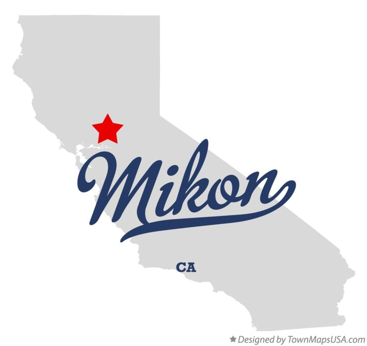 Map of Mikon California CA