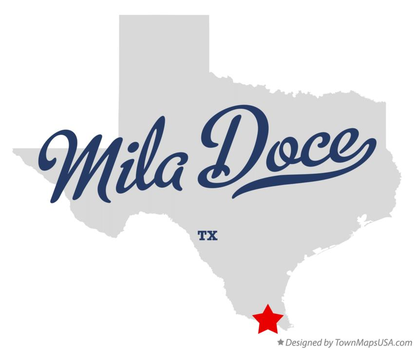 Map of Mila Doce Texas TX