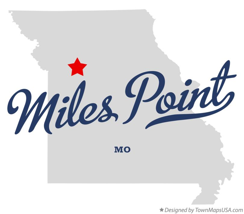 Map of Miles Point Missouri MO
