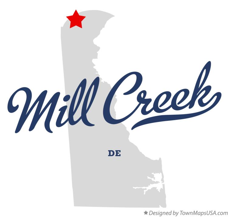Map of Mill Creek Delaware DE