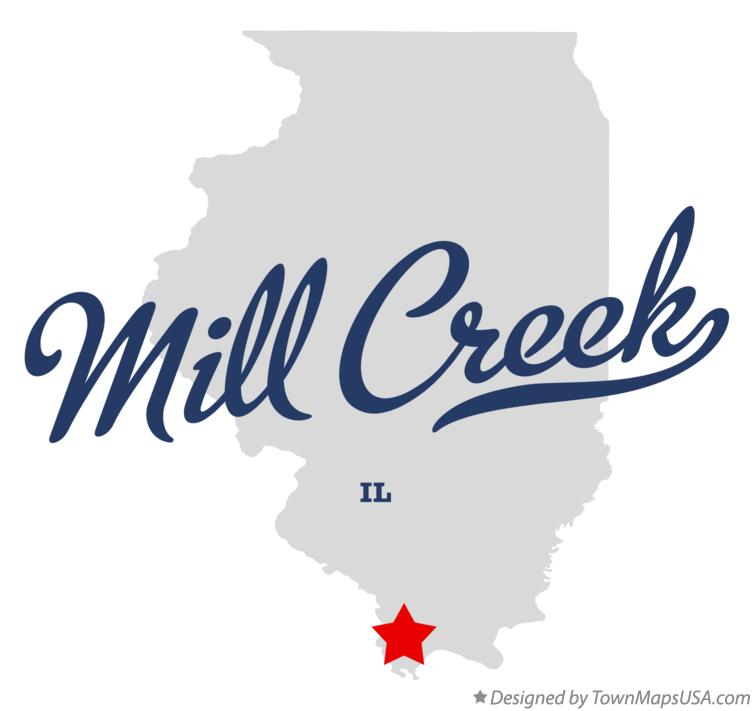 Map of Mill Creek Illinois IL