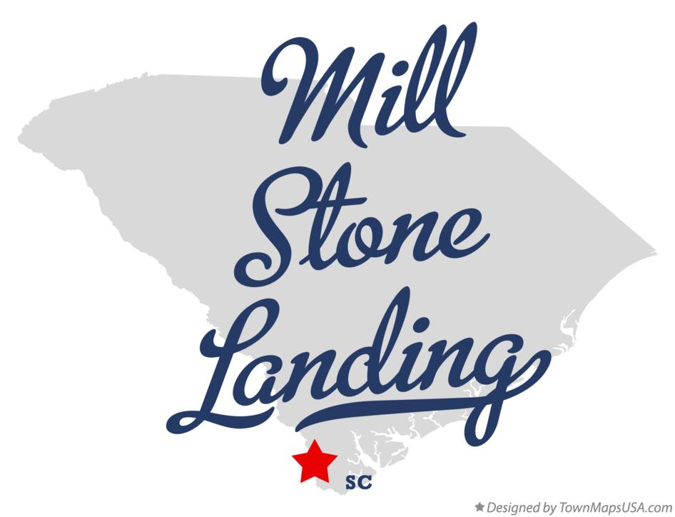 Map of Mill Stone Landing South Carolina SC