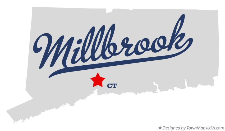 Map of Millbrook Connecticut CT