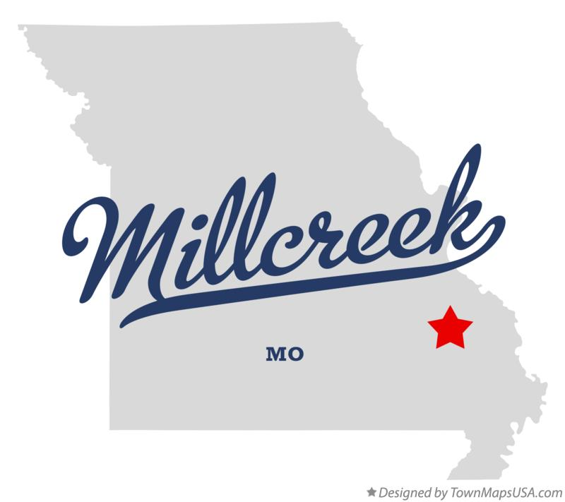 Map of Millcreek Missouri MO
