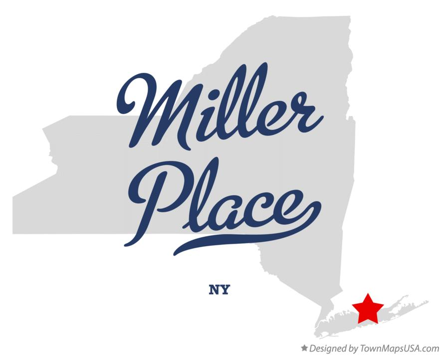 Map of Miller Place New York NY