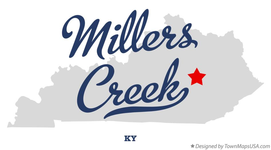Map of Millers Creek Kentucky KY