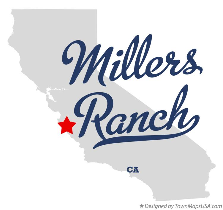 Map of Millers Ranch California CA