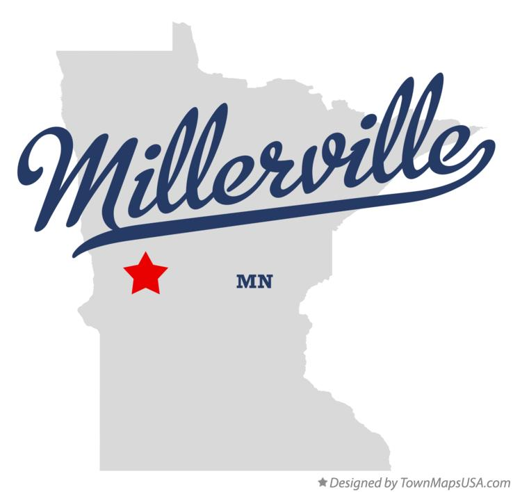 Map of Millerville Minnesota MN
