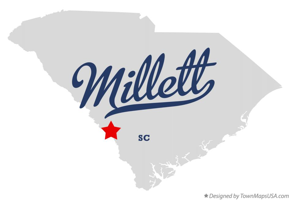 Map of Millett South Carolina SC