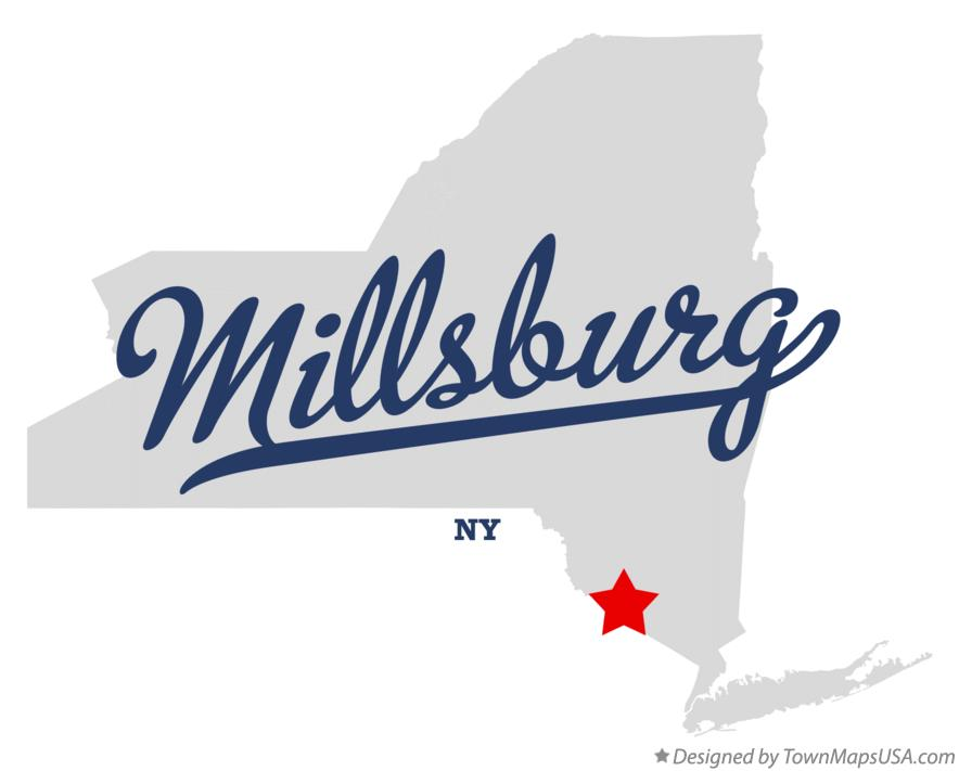 Map of Millsburg New York NY