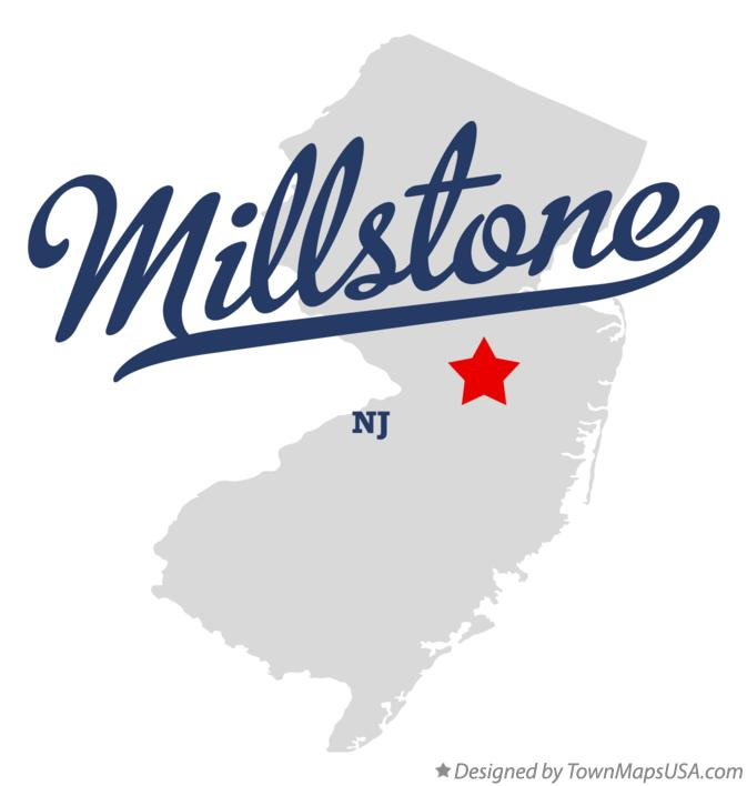 Map of Millstone New Jersey NJ