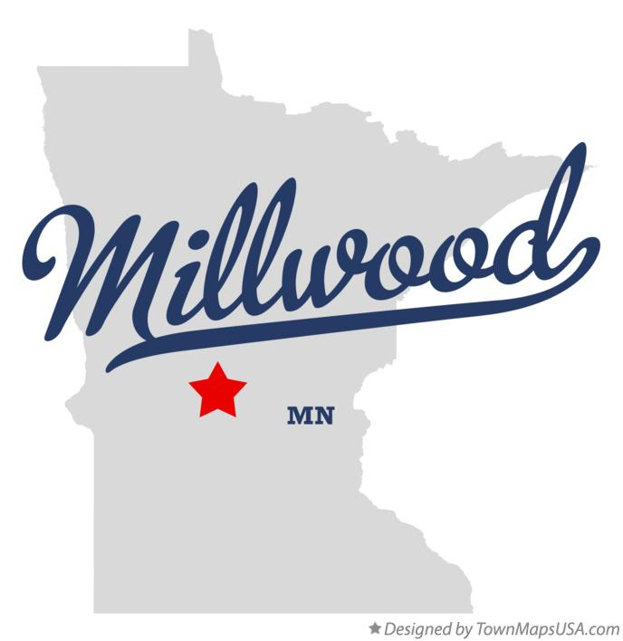 Map of Millwood Minnesota MN