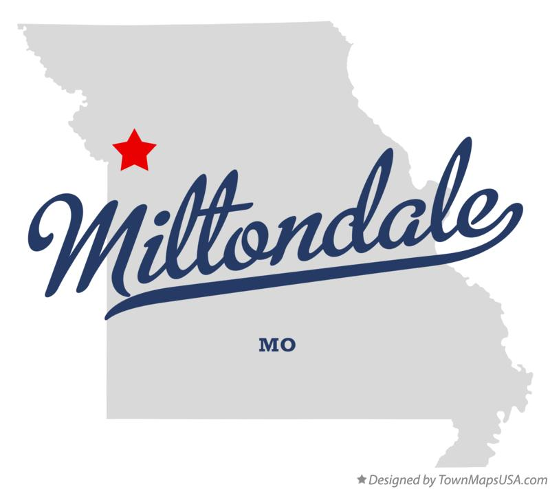 Map of Miltondale Missouri MO