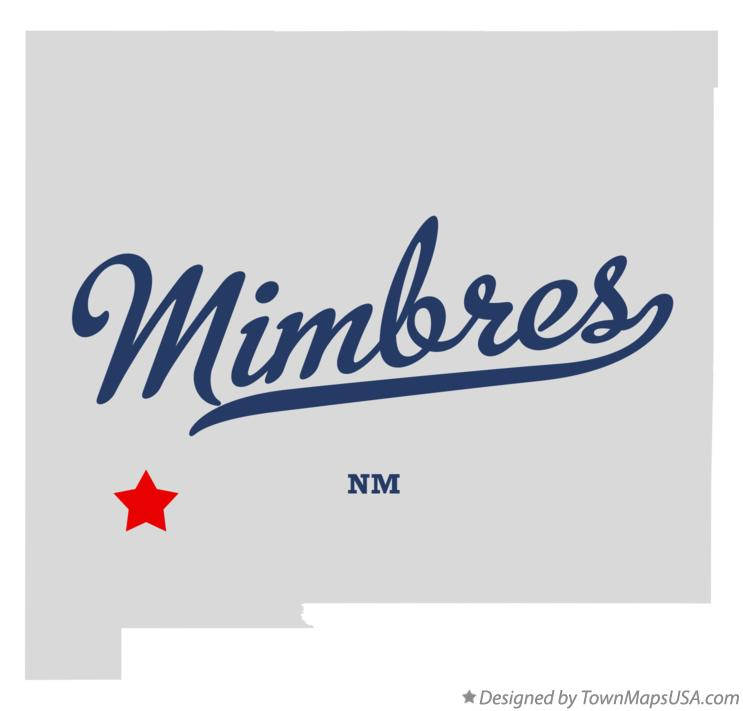 Map of Mimbres New Mexico NM