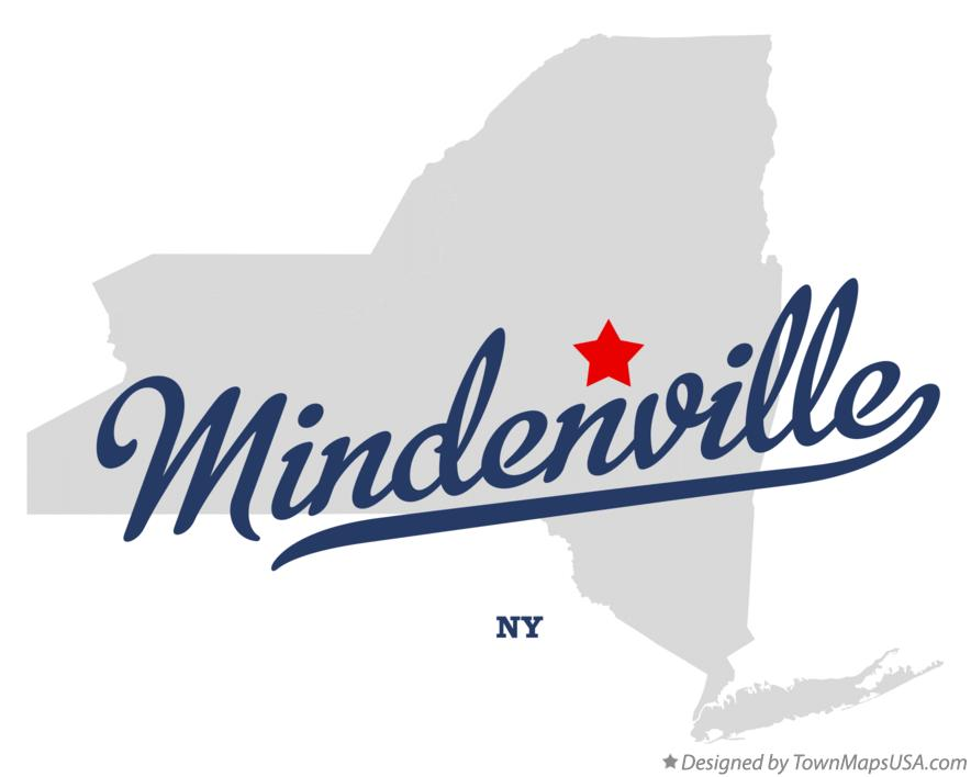 Map of Mindenville New York NY