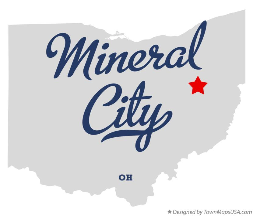 Map of Mineral City Ohio OH