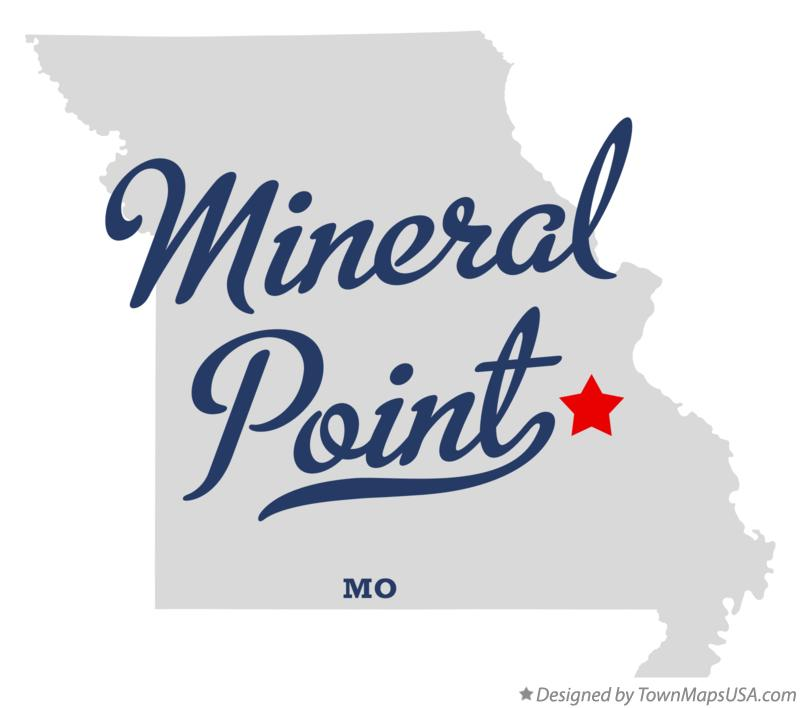 Map of Mineral Point Missouri MO