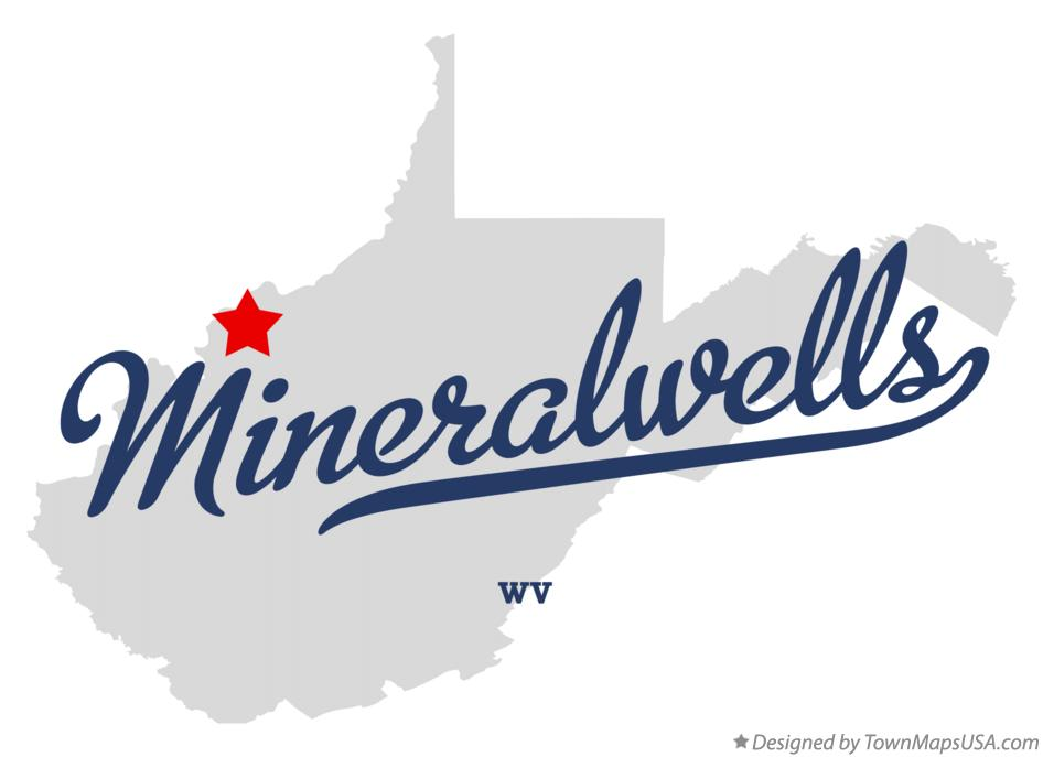 Map of Mineralwells West Virginia WV