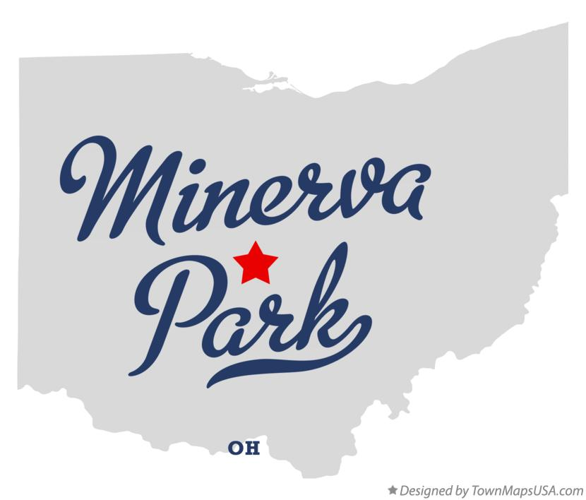 Map of Minerva Park Ohio OH