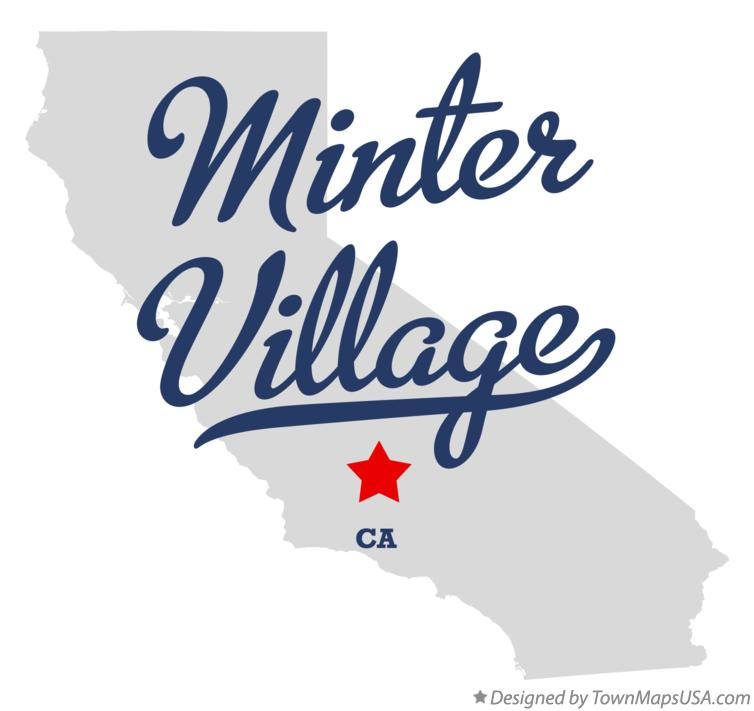 Map of Minter Village California CA