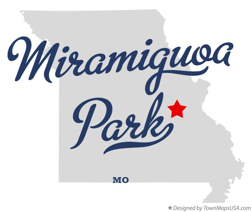 Map of Miramiguoa Park Missouri MO