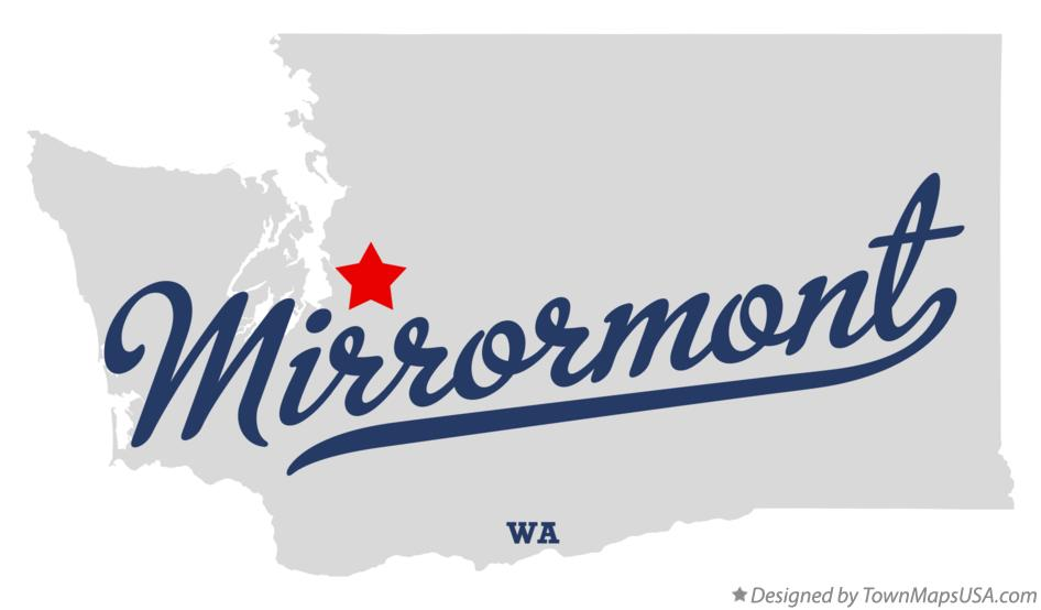 Map of Mirrormont Washington WA