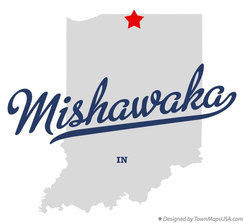 Map Of Mishawaka In Indiana