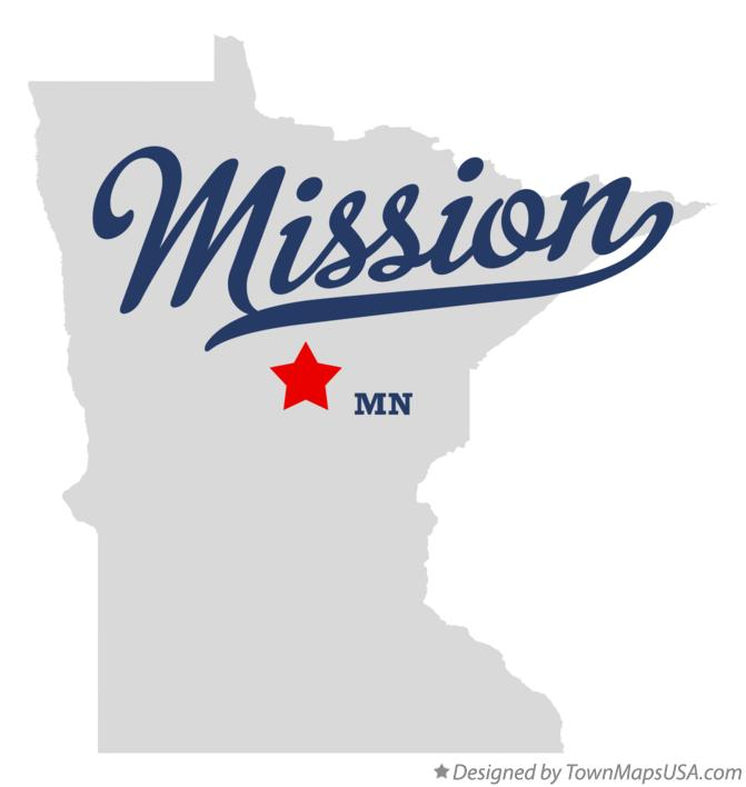 Map of Mission Minnesota MN