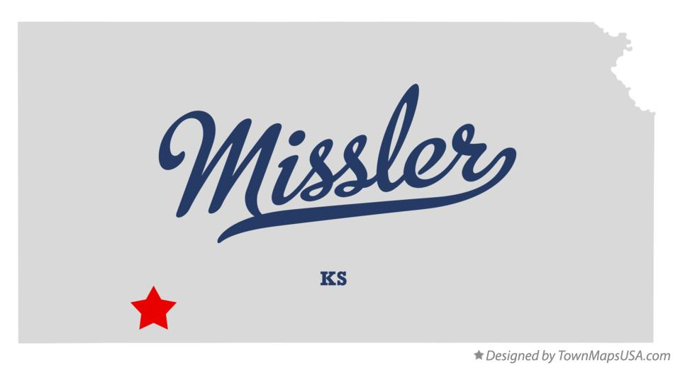 Map of Missler Kansas KS