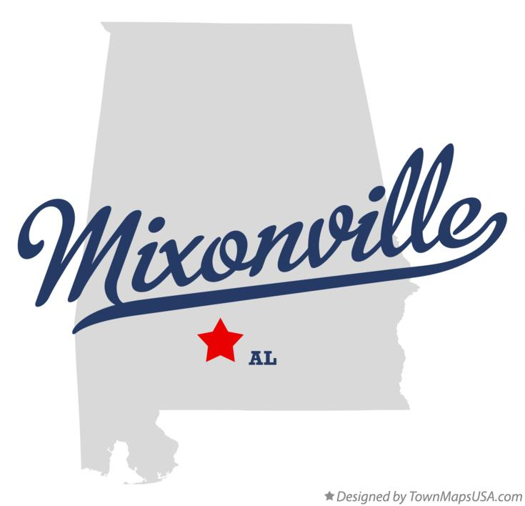Map of Mixonville Alabama AL