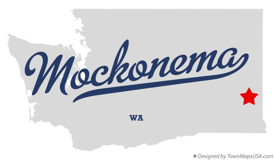 Map of Mockonema Washington WA