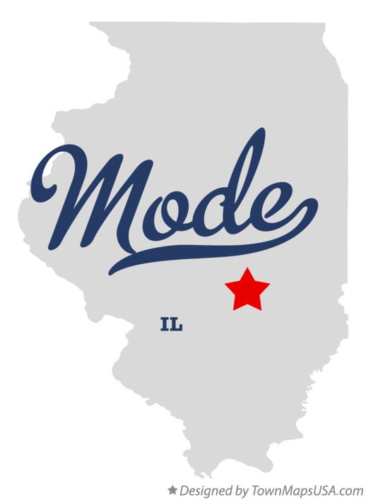 Map of Mode Illinois IL