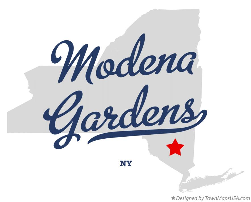 Map of Modena Gardens New York NY
