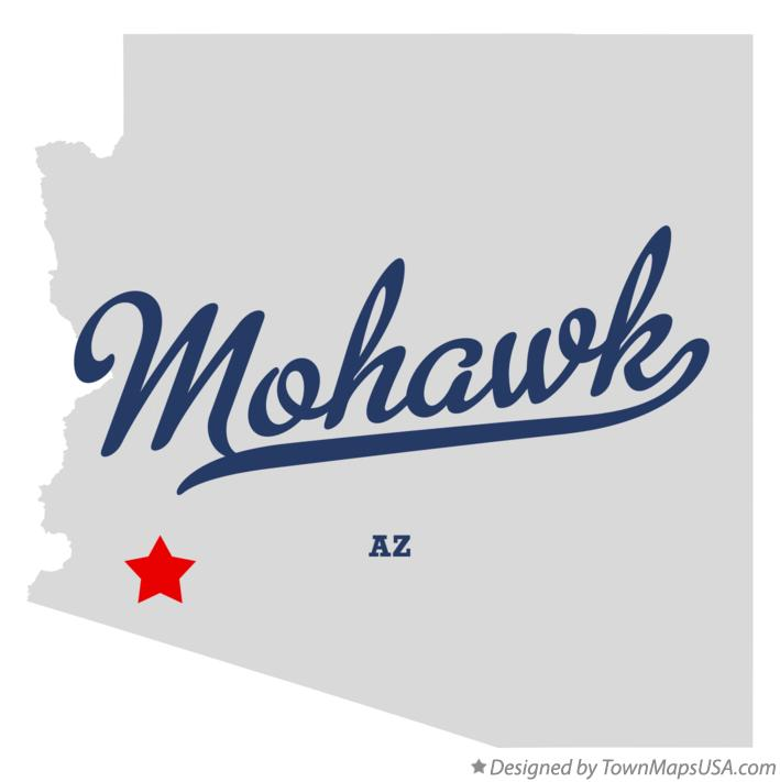 Map of Mohawk Arizona AZ