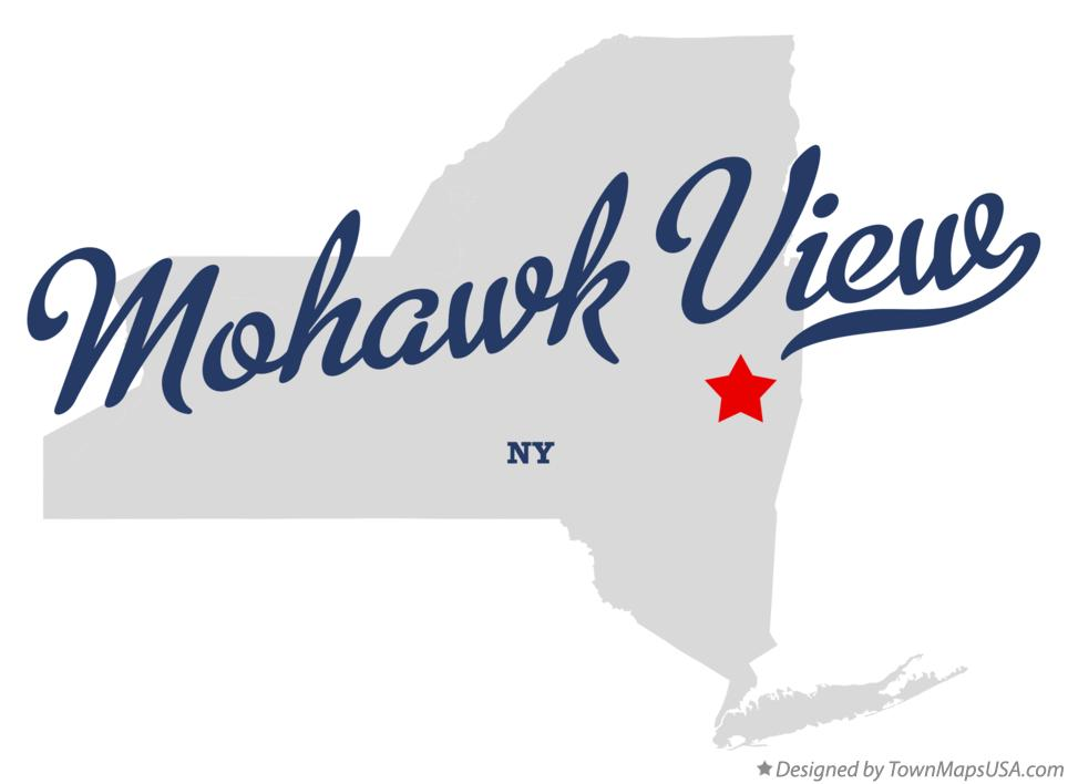 Map of Mohawk View New York NY