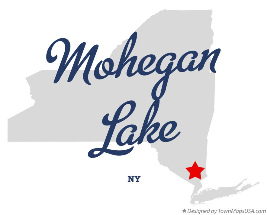 Map of Mohegan Lake New York NY