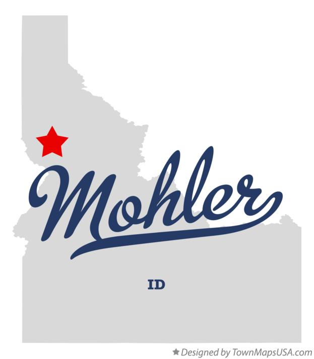 Map of Mohler Idaho ID