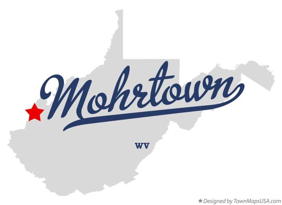 Map of Mohrtown West Virginia WV