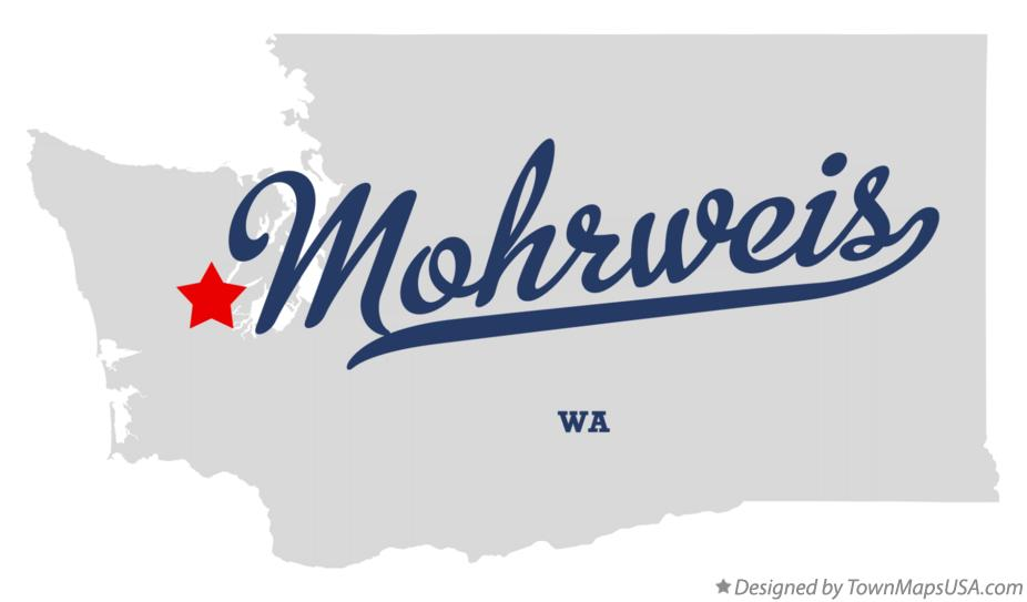 Map of Mohrweis Washington WA