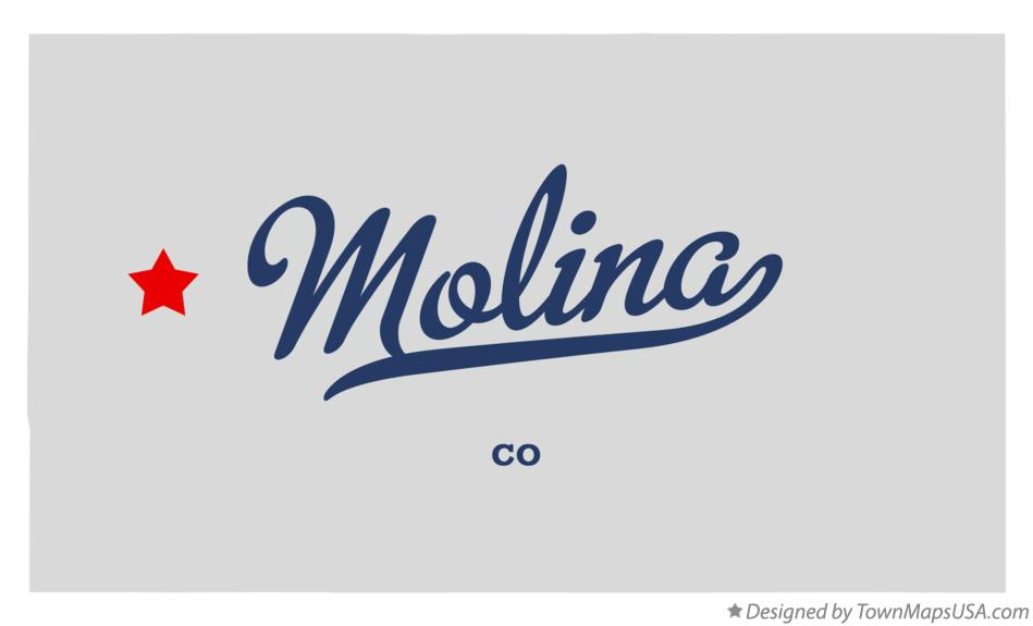 Map of Molina Colorado CO