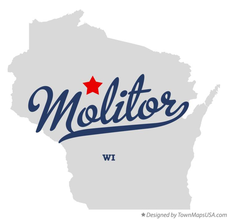 Map of Molitor Wisconsin WI
