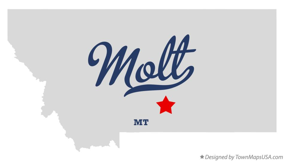 Map of Molt Montana MT