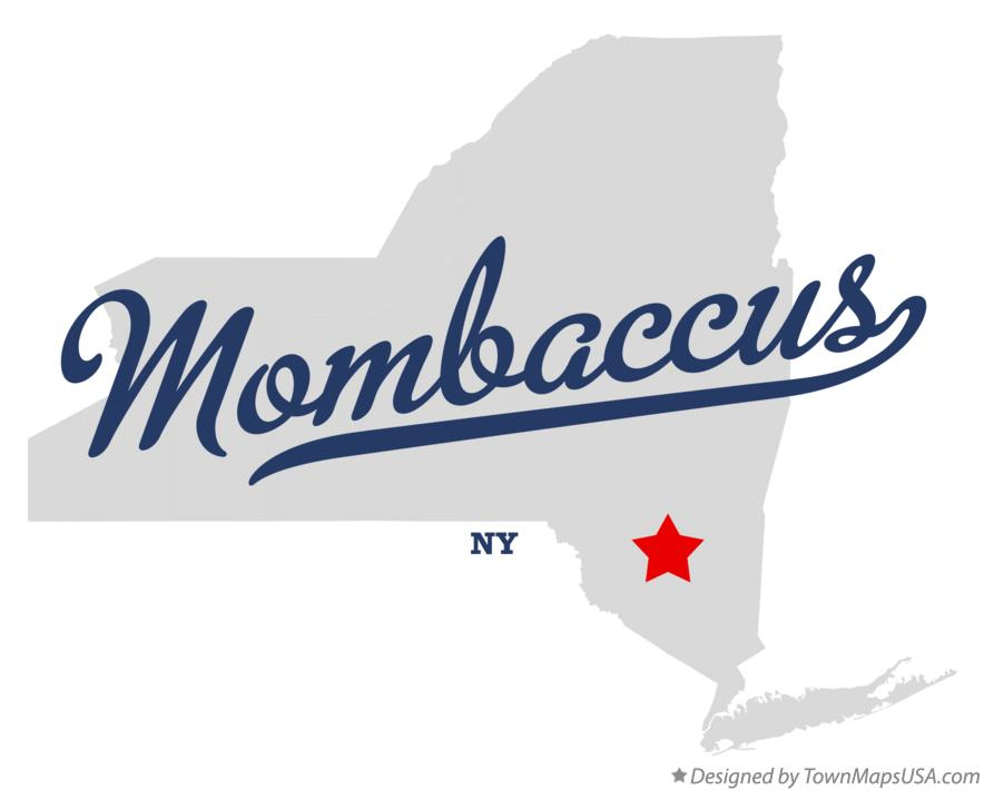 Map of Mombaccus New York NY