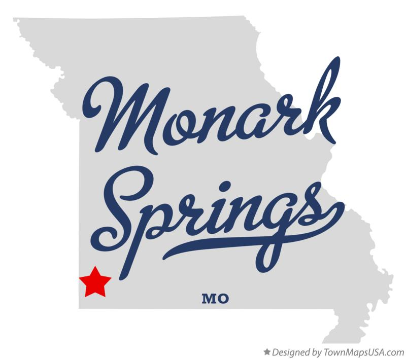 Map of Monark Springs Missouri MO