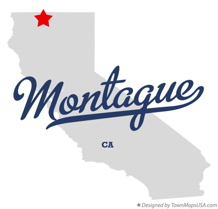 Map of Montague California CA