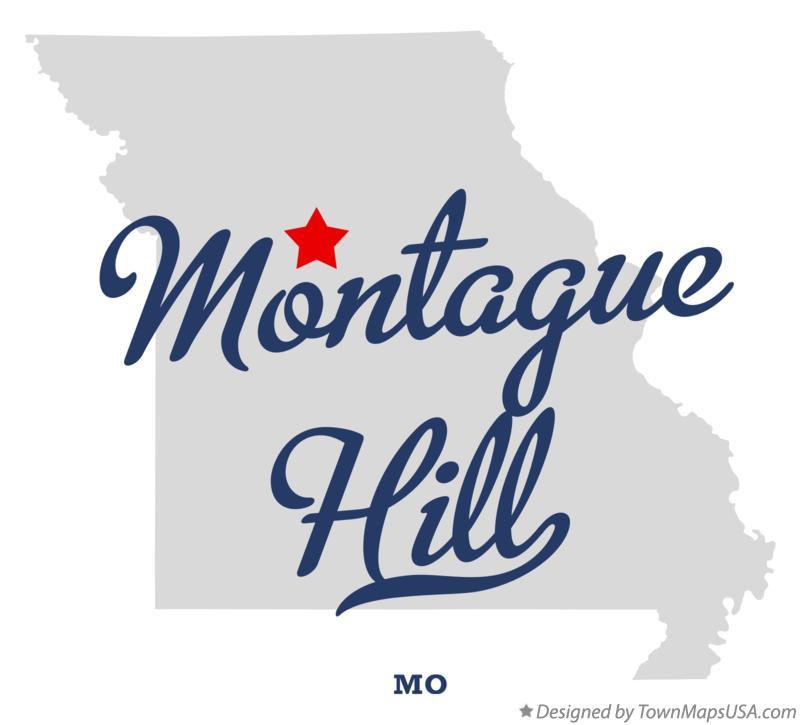 Map of Montague Hill Missouri MO