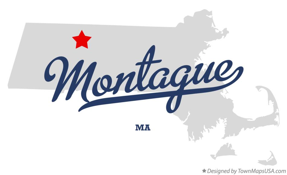 Map of Montague Massachusetts MA